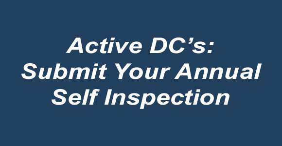 Annual Self-Inspection Form